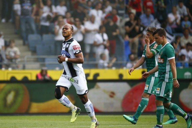 Sturm Graz besiegt Rapid Wien klar mit 4:2.