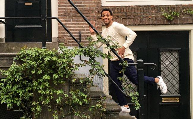 """Bei """"Eurovision in Concert"""" in Amsterdam begeisterte Cesár Sampson seine Fans."""