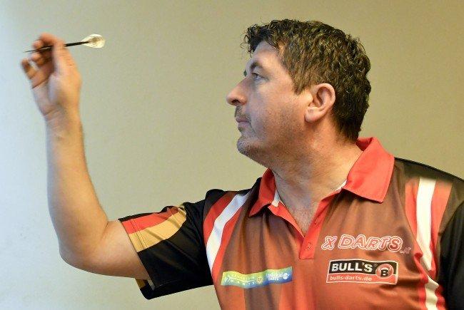Darts-Profi Mensur Suljovic schied bei den Austrian Open aus.