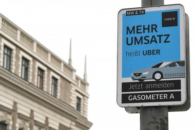 Die Uber-Preise treiben die Wiener Taxis in den Ruin.