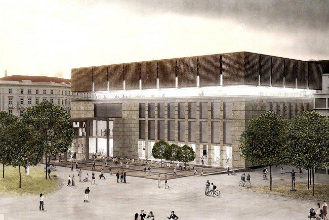 108 Millionen Euro soll der Umbau des Wien Museums kosten. Am Ende soll es so aussehen.