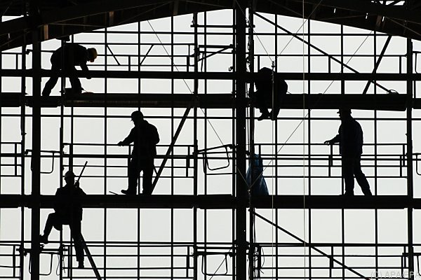 Getragen wird die Konjunktur u.a. von einem derzeitigen Bauboom