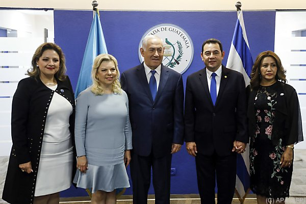 Guatemala folgte dem Beispiel der USA