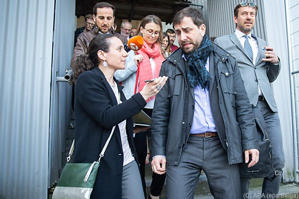 Katalanen wie Toni Comin flüchteten nach Belgien