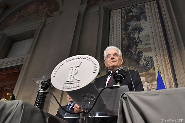 Regierungsauftrag durch Mattarella noch am Montag unklar