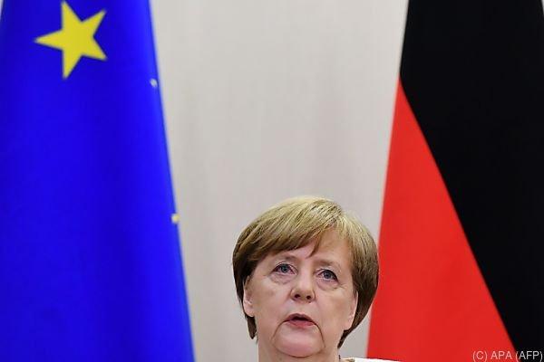 Merkels Besuch wird als Chance gesehen