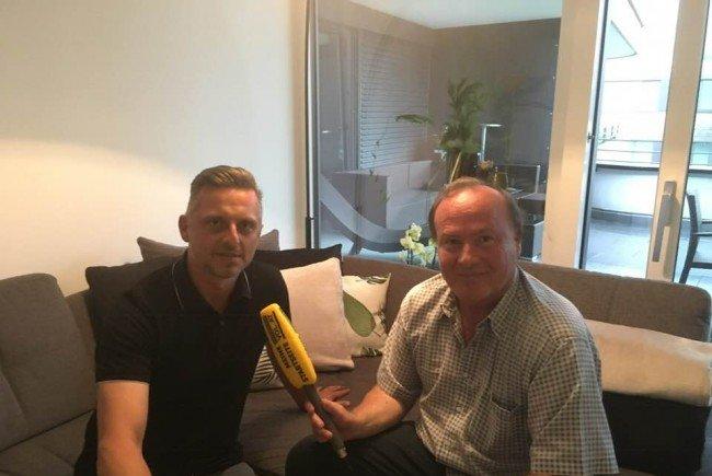 Zu Ehren von FC Dornbirn-Torjäger Mischa Culafic