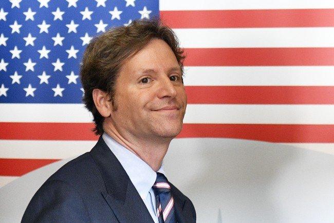 Der neue US-Botschafter Traina ist am Freitag in WIen angekommen.
