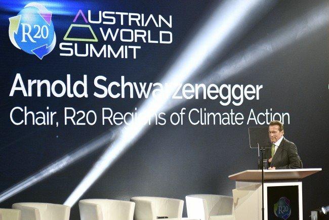 Hier landet Arnold Schwarzenegger in Wien