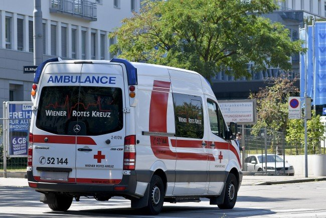 Der 7-jährige wurde zur Erstversorgung in ein Wiener Spital gebracht.