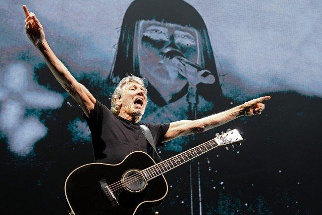Roger Waters gab am Mittwoch nicht nur seine Musik zum Besten, sondern auch seine Meinung über den Neo-Faschismus.