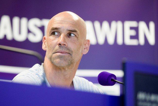 Thomas Letsch bleibt Trainer der Wiener Austria.