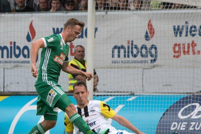Rapid Wien setzte sich mit 2:0 gegen LASK Linz durch.