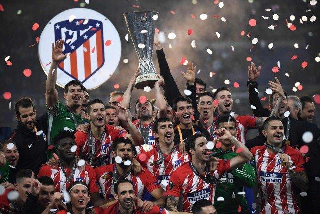 Atletico Madrid entschied das Europa League-Finale für sich.