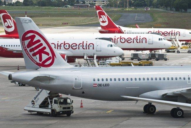 Air Berlin und Niki ließen Passagiere im Regen stehen. / Symbolfoto