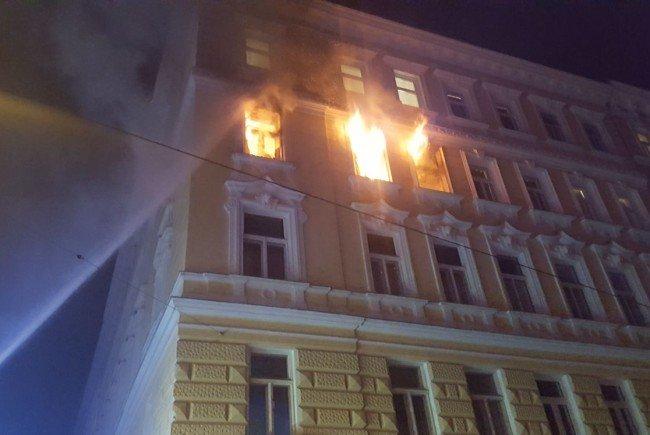 Ein Feuer in Margareten forderte in der Nacht auf Montag ein Todesopfer.