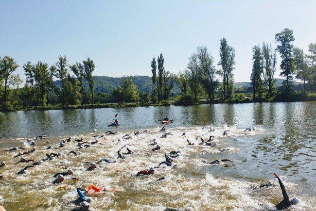 In Klosterneuburg findet am Wochenende ein Triathlon statt.