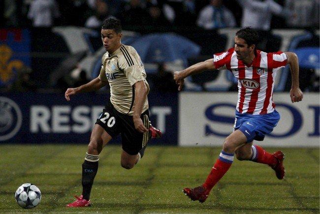 Heute treffen Marseille gegen Atletico aufeinander.
