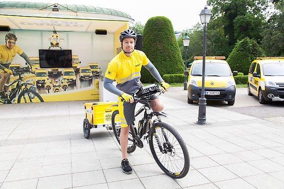 Die Gelben Engel sind ab 2. Mai in der Wiener Innenstadt unterwegs.