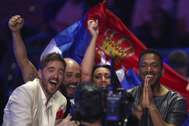 Cesár Sampson darf sich beim Eurovision Song Contest für den dritten Platz freuen.