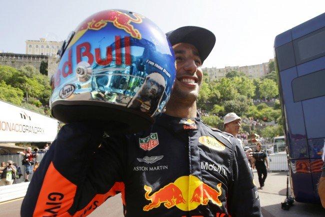 Red Bull Pilot Daniel Ricciardo holte sich in überlegener Manier die Pole Position in Monaco.