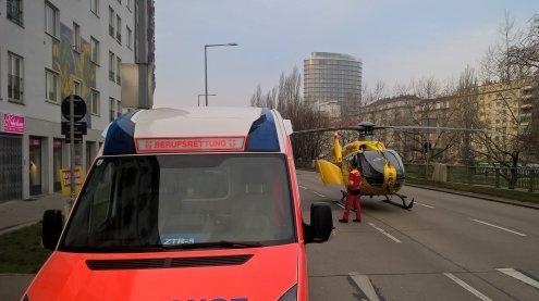 Mann in Wien nach Herz-Kreislauf-Stillstand erfolgreich reanimiert