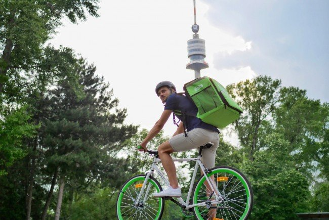 Uber Eats Wien liefert nun auch nach Floridsdorf und Donaustadt.