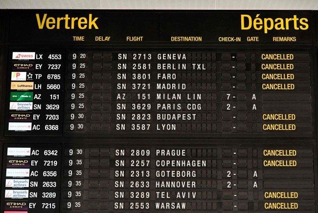 Drei Wien-Flüge wegen Streiks gestrichen