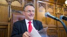 Ernst Woller ist neuer Landtagspräsident
