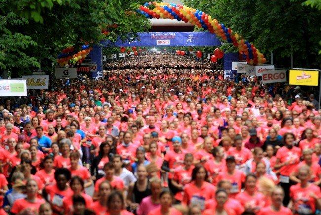Erneut verzeichnet der Österreichische Frauenlauf mehr als 30.000 Teilnehmerinnen.