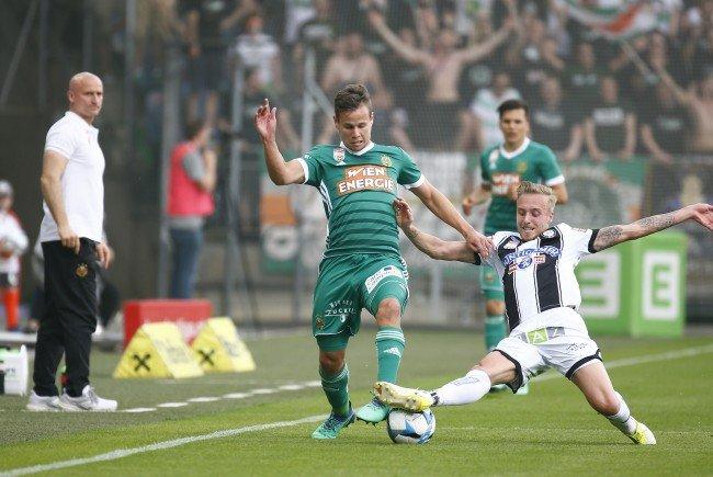 James Jeggo (r.) wechselt von Sturm Graz zur Wiener Austria.