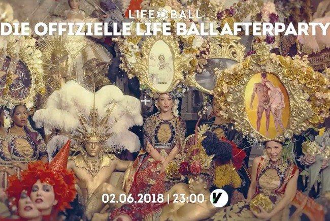 Die offizielle Afterparty zum Life Ball 2018 im Volksgarten