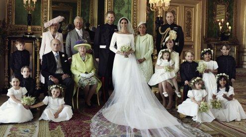 Die offiziellen Hochzeitsfotos von Prinz Harry und Meghan Markle