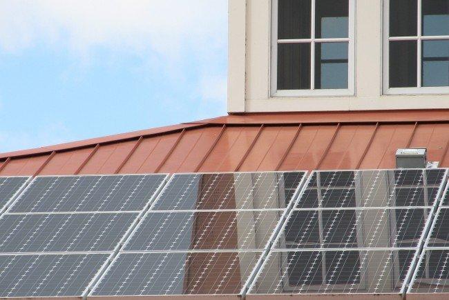 Wien Energie installierte bereits seine ersten Photovoltaikanlagen.