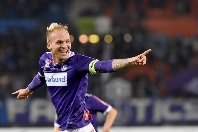 Raphael Holzhauser wird die Wiener Austria nach Saisonende verlassen.