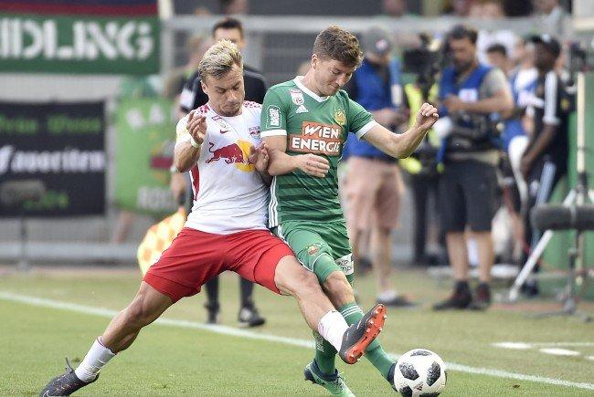 Rapid Wien verlor Zuhause gegen Salzburg.