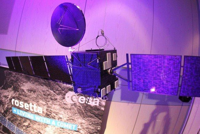 Die Rosetta-Mission wird ab MIttwoch im Naturhistorischen Museum in Wien aufgearbeitet.