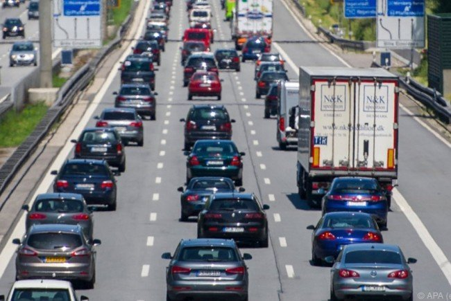 Die Westautobahn wurde nach dem Unfall in Richtung Wien gesperrt.