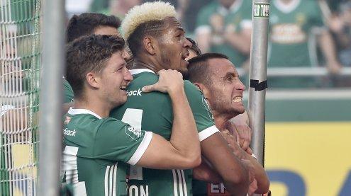 Abschied: Steffen Hofmann trifft in seinem letzten Spiel für Rapid
