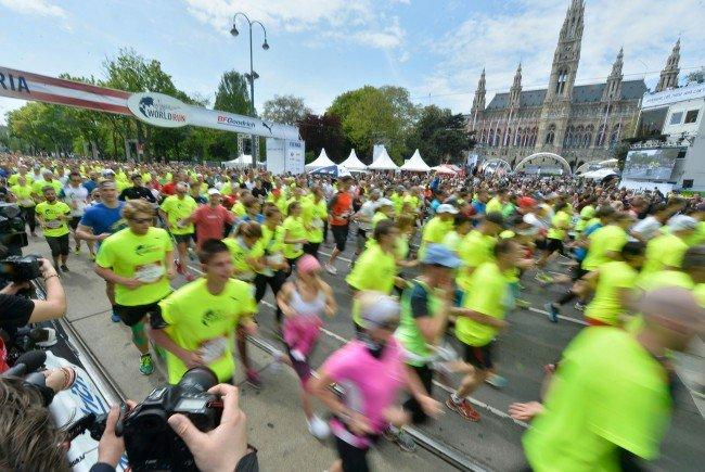 Der Wings for Life Run in Wien sorgt am Sonntag für einige Straßensperren.