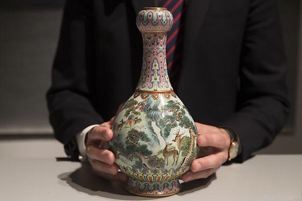 Die Vase ist in makellosem Zustand