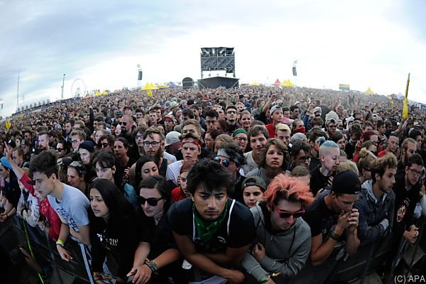 Die Musik-Fans erwartet universelles Wetter
