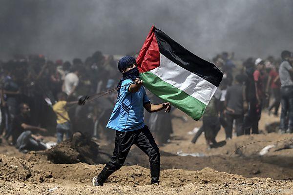 Bei Unruhen im Gaza-Streifen wurden 120 Menschen getötet