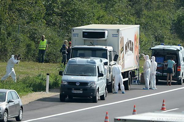 Bei dem Drama erstickten 71 Flüchtlinge in einem Kühl-Transporter