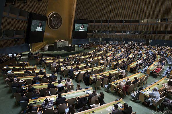 120 Staaten stimmten für die Resolution