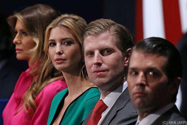 Auch Tochter und Söhne Trumps werden beschuldigt