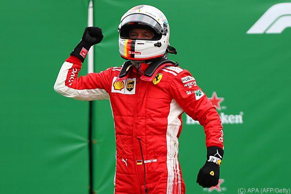 Sebastian Vettel dachte bei seinem Sieg an Michael Schumacher