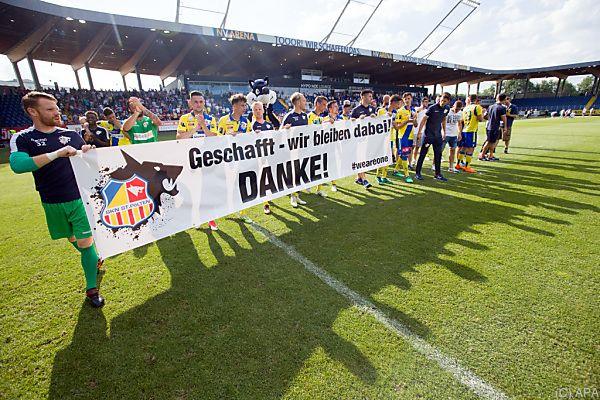 Relegationsrückspiel in St. Pölten mit 1:1 beglaubigt