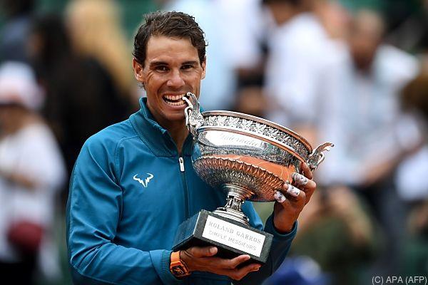 """Nadal ist """"voller Vorfreude weiterzumachen"""""""