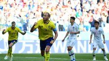 Schweden feierte beim Spiel vs. Südkorea ein 1:0